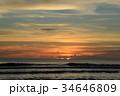 夕焼け 夕方 空の写真 34646809