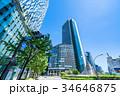 《愛知県》名古屋駅・都市風景 34646875