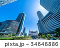 《愛知県》名古屋駅前・都市風景 34646886