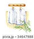 白いシャツ 34647988