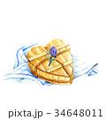 ハートの木箱 34648011