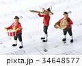 フィギュア 演奏 楽器の写真 34648577