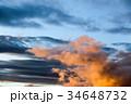 雲 空 夕焼けの写真 34648732