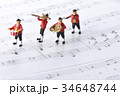 フィギュア 演奏 楽器の写真 34648744