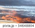 雲 空 夕焼けの写真 34648804