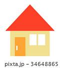 赤い屋根の家 34648865