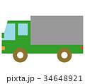 トラック 車 自動車のイラスト 34648921