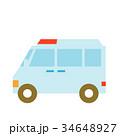 救急車 車 自動車のイラスト 34648927
