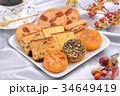 焼き菓子盛り合わせ 秋のイメージ 34649419
