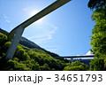 ループ橋 橋 雷電廿六木橋の写真 34651793