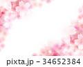 桜 和柄 背景のイラスト 34652384