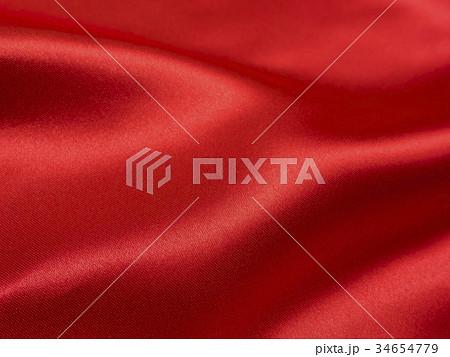 ドレープ・赤 34654779