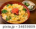 親子丼 丼 ご飯の写真 34659809
