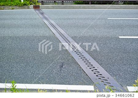 橋と道路のつなぎ目 34661062