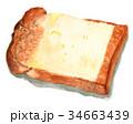 パン 水彩 イギリスパンのイラスト 34663439