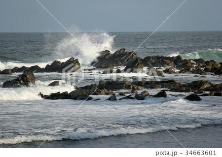 波しぶき 34663601
