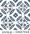 トルコ パターン 柄のイラスト 34667048