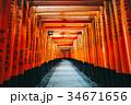 京都 伏見稲荷大社 日本 34671656