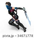 女性戦士 34671778