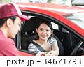 ガソリンスタンド 支払い カード  34671793