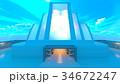 宇宙船 cg sfのイラスト 34672247