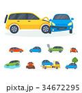 ベクトル 車 自動車のイラスト 34672295