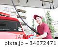 ガソリンスタンド 34672471