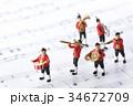 音楽隊の行進 34672709