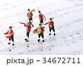 演奏 音楽 楽譜の写真 34672711