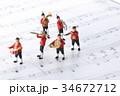 演奏 音楽 楽譜の写真 34672712