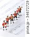 演奏 音楽 楽譜の写真 34672729