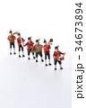 音楽隊、演奏、行進 34673894