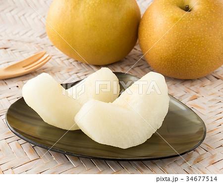 梨 幸水梨 果物 フルーツ 34677514
