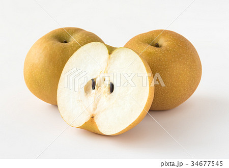 梨 幸水梨 果物 フルーツ 34677545