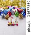 クリスマス クリスマスイメージ オーナメントの写真 34677860