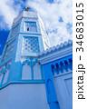モロッコ シャウエン 青い街の写真 34683015