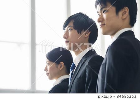 ビジネス 新人 若手 就活イメージ 34685253