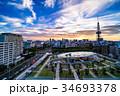 《愛知県》名古屋・都市風景《夕景》 34693378