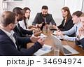 ビジネス チーム 会社の写真 34694974