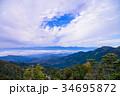 自然 南アルプス 山の写真 34695872