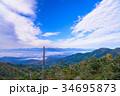 自然 南アルプス 山の写真 34695873