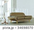 トルソー ソファ インテリアのイラスト 34698070
