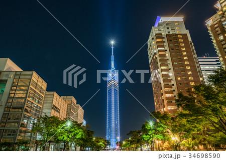 福岡タワーライトアップ 34698590