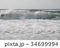 波 荒波 白波の写真 34699994