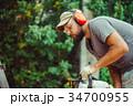 丸太 人 男の写真 34700955