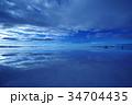 ボリビア ウユニ塩湖 34704435
