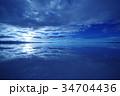 ボリビア ウユニ塩湖 34704436