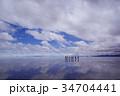 ボリビア ウユニ塩湖 34704441