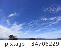 秋空 うろこ雲 空の写真 34706229
