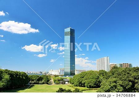青空の千葉ポートタワー 34706884